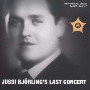 Jussi Bjorlings Last Concert