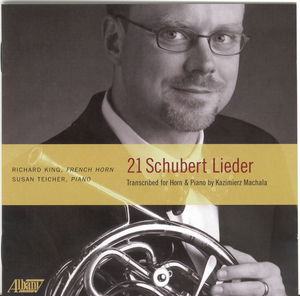Twenty-One Lieder: Transcribed for French Horn
