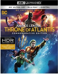Justice League: Throne of Atlantis (Commemorative Edition) (DCU)