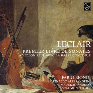 First Book of Sonatas for Solo Violin