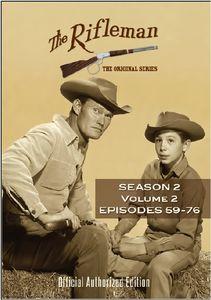 The Rifleman: Season 2 Volume 2 (Episdoes 59 - 76)