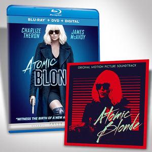 Atomic Blonde Blu-ray Bundle