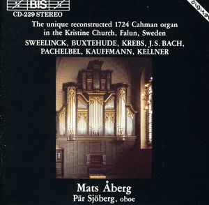 Works for Organ Performed on Reconstructed 1724