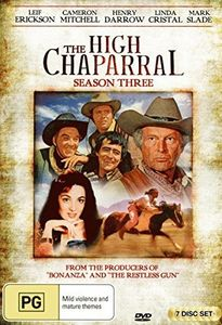 High Chaparral: Season Three [Import]