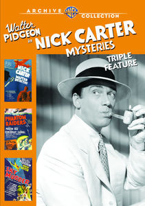 Nick Carter Mysteries: Triple Feature