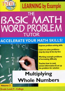 Basic Math Word Problms: Multiplying Whole Numbers