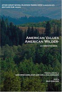 American Values American Wilderness