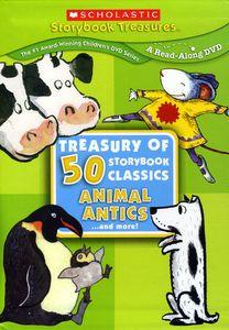 Treasury of 50 Storybook Classics: Animal Antics and More!