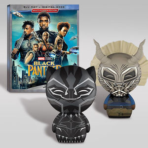Black Panther Dorbz Blu-ray Bundle