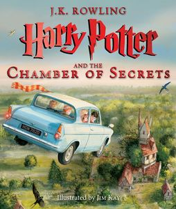HARRY POTTER AND THE CHAMBER OF SECRETS ILLUS ED