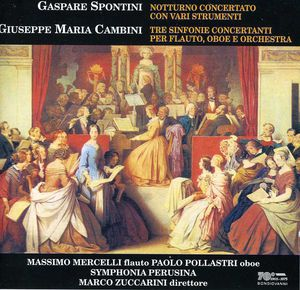 Tre Sinfonie Concertanti Per Flauto /  Oboe E Orch