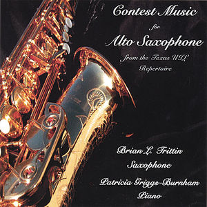 Contest Music for the Alto Saxophone