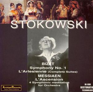 Symphony 1 in C /  L'arlesienne Suites 1 & 2