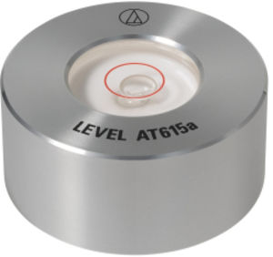AUDIO TECHNICA AT615A TRNTBL PLATTER LVL ALUM SLV