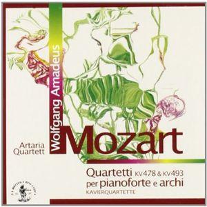Piano Quartets K.478 & K.493