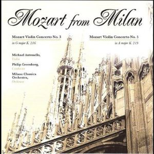 Mozart from Milan
