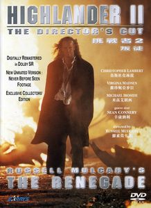 Highlander 2: Renegade Version: The Director's Cut [Import]