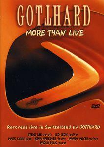 Gotthard: More Than Live [Import]