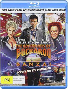Adventures of Buckaroo Banzai Across the 8th Dimen [Import]