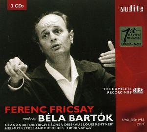 Ferenc Fricsay Conducts Bela Bartok