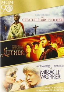 The Greatest Story Ever Told /  Luther /  The Miracle Worker