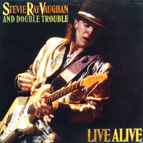 Stevie Vaughan Ray - Live Alive