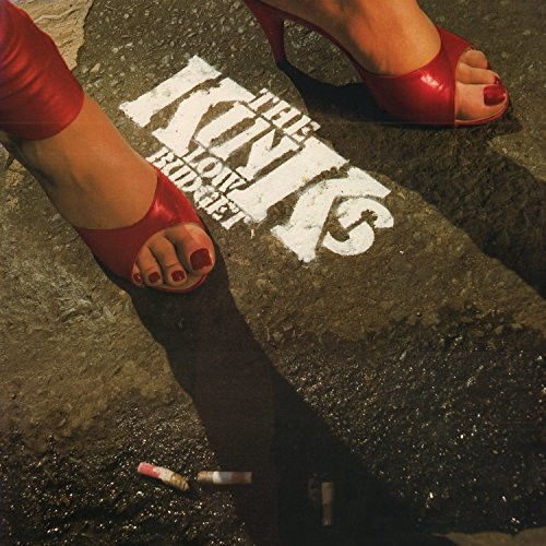 The Kinks - Low Budget [Limited Edition Transparent Red LP]