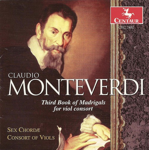 3rd Book of Madrigals for Viol Consort