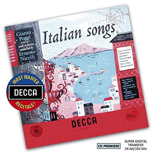 Most Wanted Recitals: Gianni Poggi - Italian Songs