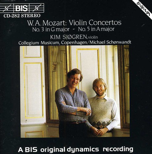 Violin Concertos 3 G KV216