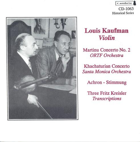 Historical Violin Recordings