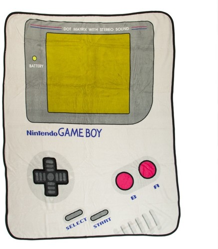 Nintendo Game Boy Fleece Throw - Nintendo Game Boy Fleece Throw