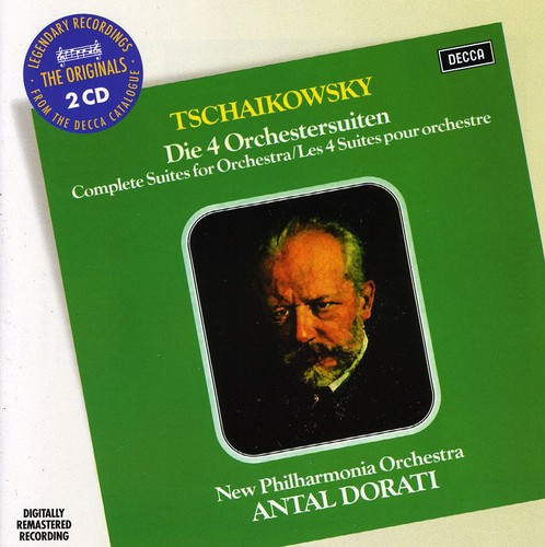 Tchaikovsky: Four Suites for Orch