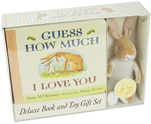 GUESS HOW MUCH I LOVE YOU DELUXE BOOK & TOY GIFT