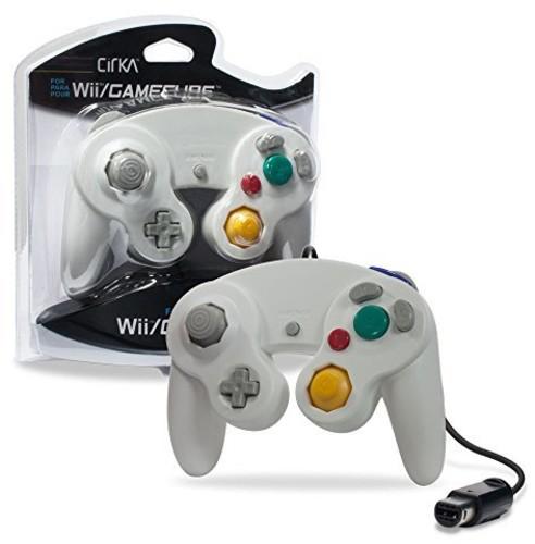 - CirKa Controller - White for Nintendo Wii and GameCube