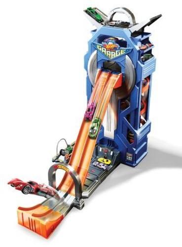 Hot Wheels - Mattel - Hot Wheels Mega Garage Playset