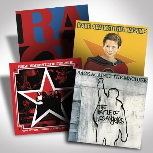 Rage Against The Machine Vinyl Bundle