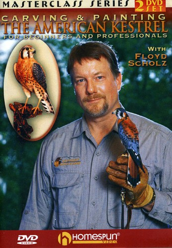 Carving & Painting the American Kestrel: For