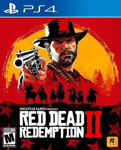 - Red Dead Redemption 2 for PlayStation 4
