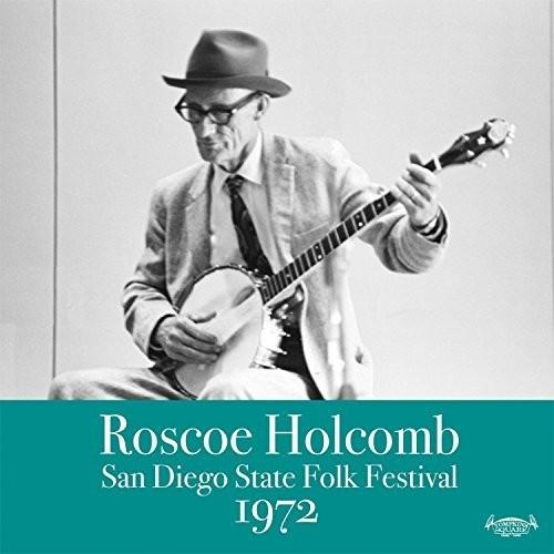 Roscoe Holcomb - San Diego Folk Festival 1972