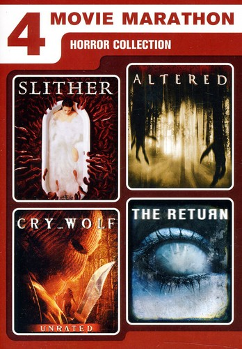 4 Movie Marathon: Horror Collection