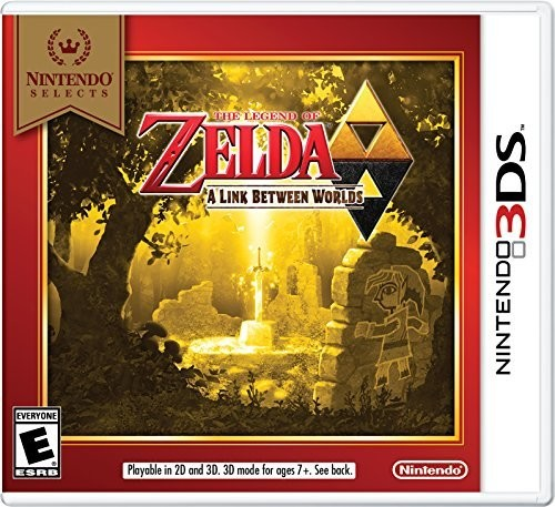 3Ds Legend of Zelda: Link Between Worlds - Ns Ed - The Legend of Zelda: A Link Between Worlds - Nintendo Selects Edition for Nintendo 3DS