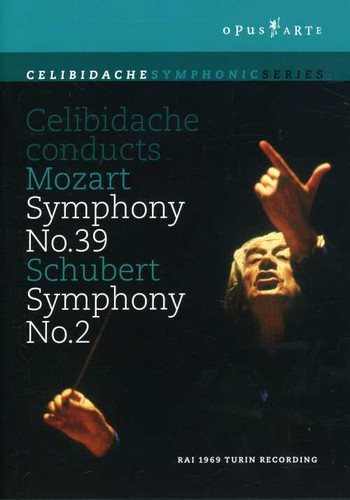 Celibidache Conducts Mozart Symphony No. 39 /  Schubert Symphony No. 2