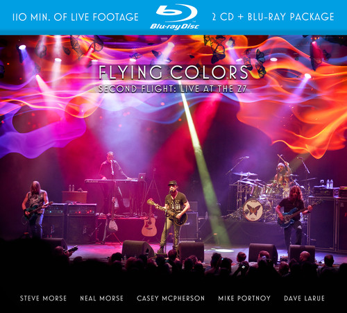 Flying Colors - Second Flight: Live At The Z7 [2CD/1BR]