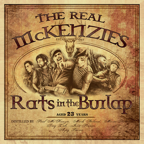 The Real Mckenzies - Rats In The Burlap [Import]