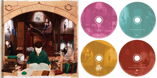 Mansun - Six (W/Dvd) (W/Book) (Ltd) (Box) (Dlx) (Ntr0) (Uk)