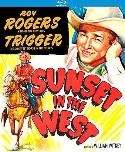 - Sunset in the West
