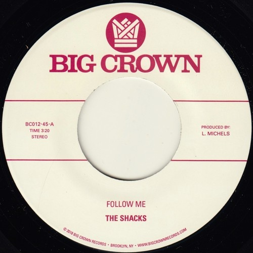 The Shacks - Follow Me / Texas [Vinyl Single]