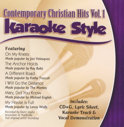 Karaoke Style: Contemporary Christian Hits, Vol. 1