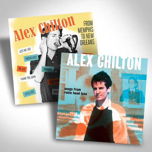 Alex Chilton Vinyl Bundle